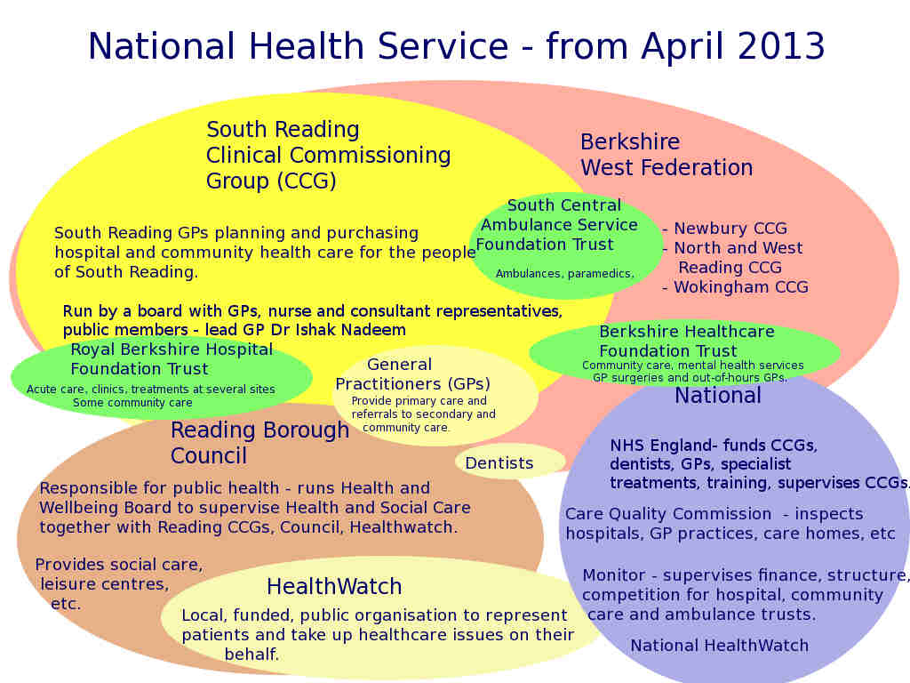 The National Health Service Structure
